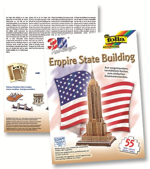 3D-Модел Empire State Building 55 части