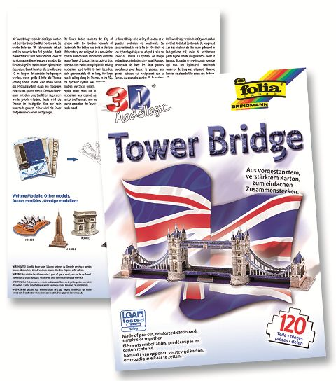 3D-Модел Tower Bridge 120 части
