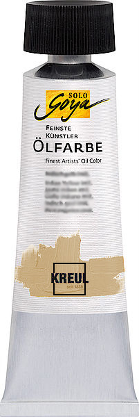Маслена боя Finest Artists Solo Goya 55 ml / Pale Yellow Light Ocher