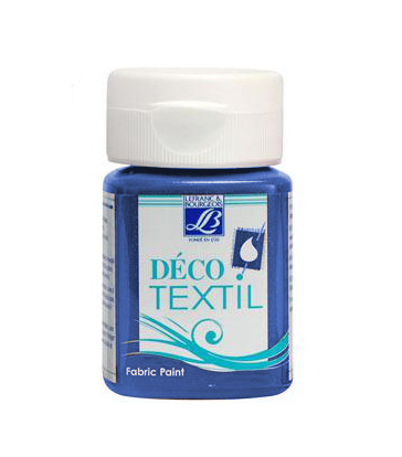 DECO Textil 50 ml PASSIONATE - electric blue