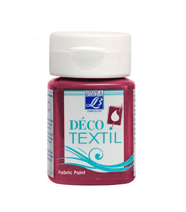 DECO Textil 50 ml PASSIONATE - intense raspberry