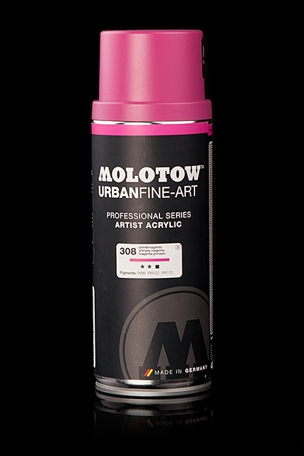 Graffiti спрей MOLOTOW™ UFA Artist Acrylic 400 ml - Permanent Orange Light