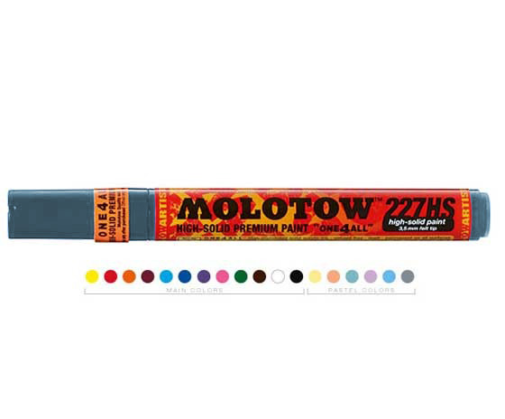 Акрилен маркер MOLOTOW - ONE4ALL 4mm - Cool Grey Pastel