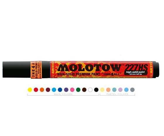 Акрилен маркер MOLOTOW - ONE4ALL 4mm - Metallic Black