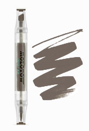 Маркер Molotow™ Aqua Twin – warm grey 02