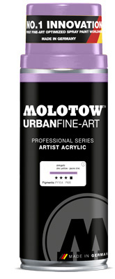 Graffiti спрей MOLOTOW™ UFA Artist Acrylic 400 ml - Currant Light