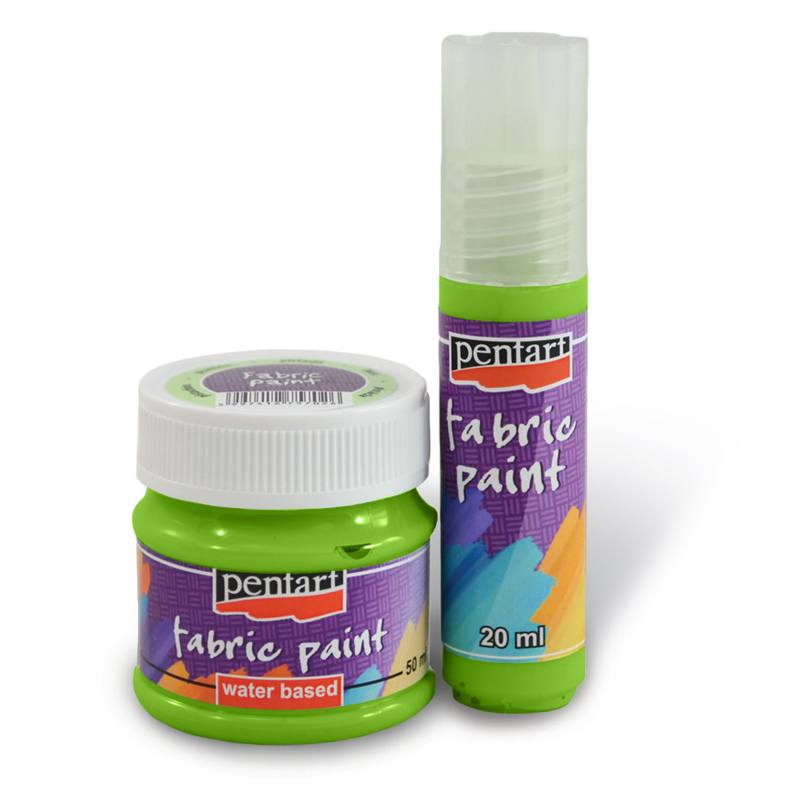 Боя за текстил PENTART - 20 ml - apple - green