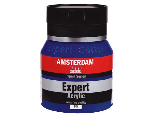"Акрилна боя Amsterdam ""Expert Series"" 400 ml - кадмий светлочервена"