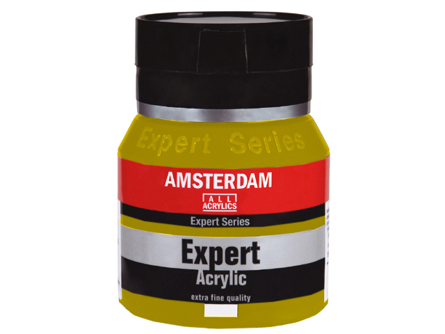 Акрилна боя Amsterdam Expert Series 400 ml - кадмий светложълта