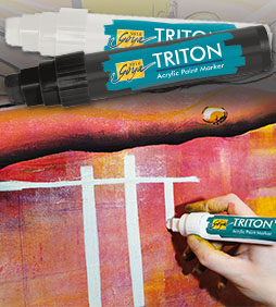 SOLO GOYA TRITON Acrylic Paint Marker 15.0 - Fluorescent Orange