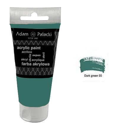 Акрилна боя Adam Palacki 75 ml - Dark Green