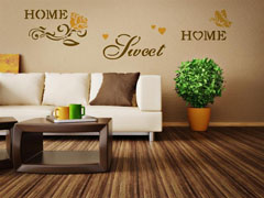 Шаблон за стена Home Design BRICO XXL - Sweet Home