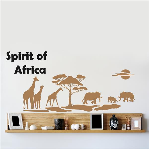 Шаблон за стена Home Design BRICO XXL - Spirit of Africa