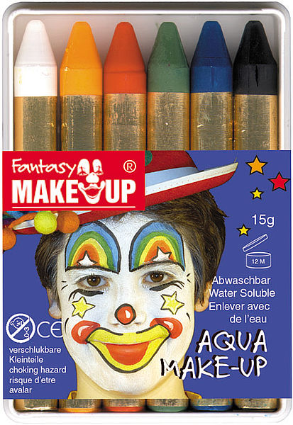 Бои за лице Fantasy Aqua Make Up - комплект