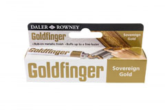 Goldfinger Daler Rowney - sovereing gold