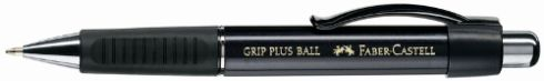 Химикалка с топче Grip Ball Plus, черна