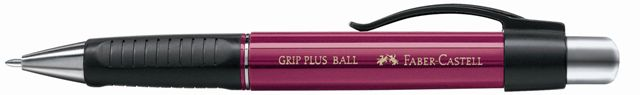 Химикалка с топче Grip Ball Plus, къпина