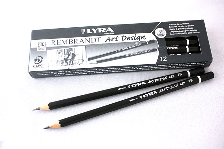 Графитни моливи LYRA REMBRANDT Art Design SET12 - 7B