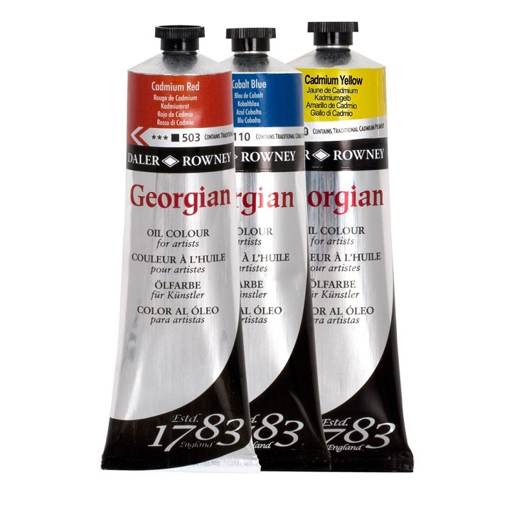 Маслени бои Daler-Rowney GEORGIAN 75 ml - 110 Cobalt blue