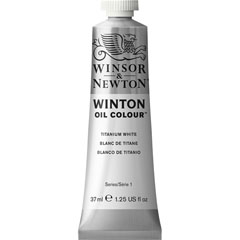 Маслена боя Winsor & Newton Winton 37 ml - Titanium white