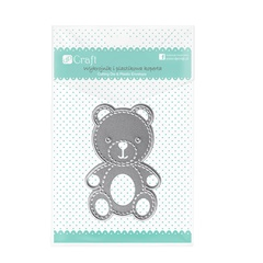 Шаблони за рязане DP Craft Teddy Bear 4.1x6.2 cm